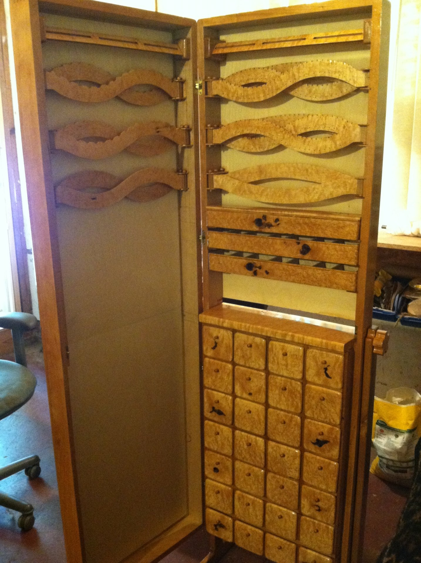 Custom Jewelry Armoire